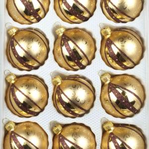 12 christmas balls golden dream special